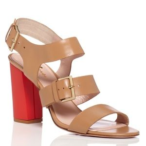 Kate Spade Ibarra Coral High Heeled Sandals